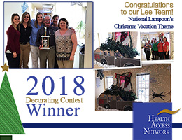Our Lee Team Wins the 2018 Decorating Contest