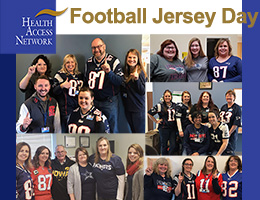 HAN hosts Football Jersey Day in Advance of Super Bowl Weekend