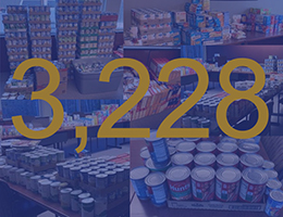HAN's Organization-wide Annual Food Drive!