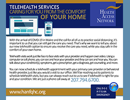 HAN Introduces Telehealth Services for Patients
